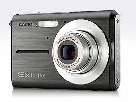 Casio Exilim EX-Z5, gama baja de Exilim