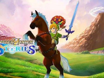 Monster Hunter Stories recibirá esta semana un DLC gratuito basado en The Legend of Zelda