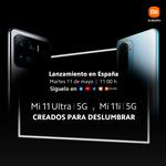 Xiaomi Mi 11 Ultra 5G y Mi 11i: cómo seguir en directo la presentación de estos móviles en España