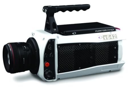 Phantom v642, grabando vídeo a 5.850 imágenes por segundo