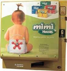 Se necesitan máquinas expendedoras de pañales y toallitas en los baños públicos