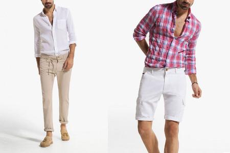 pantalones y bermudas massimo dutti