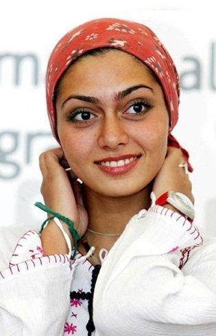 Detenida la actriz y bloguera iraní Pegah Ahangarani