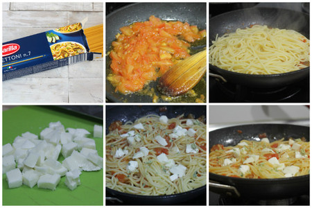 spaghettoni barilla caprese