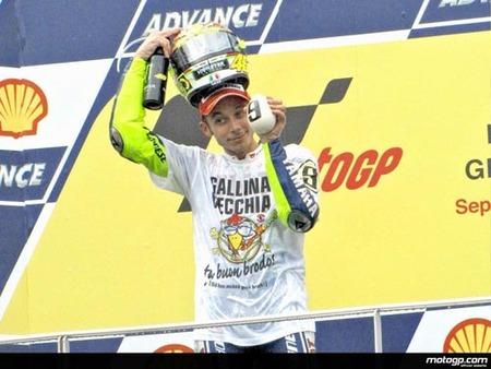 Rossi, el cuarto deportista que más gana