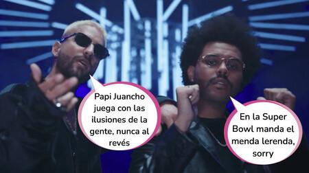 Maluma, muy crítico y decepcionado con la actuación de The Weeknd en la Super Bowl por este motivo