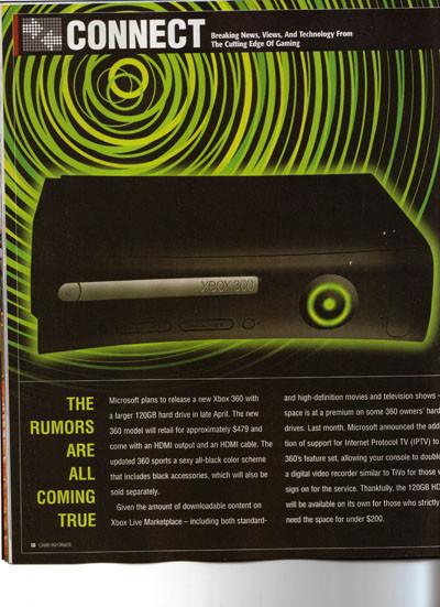Game Informer asegura que la Xbox360 v.2 es una realidad