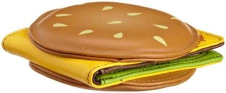 Cartera con forma de hamburguesa: no apta para dietas