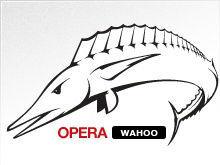 Opera 12 Wahoo logo