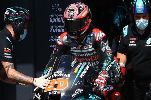 Fabio Quartararo quiere recuperar el disfraz de Marc Márquez en Misano para evitar que MotoGP se desmadre