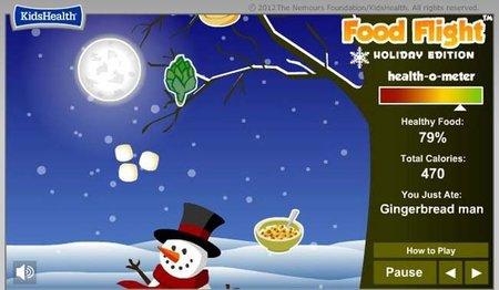 Food Flight, juego online sobre alimentación sana
