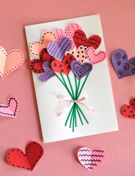 Manualidades San Valentin Ramillete