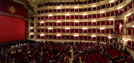 Palcos Scala Milán