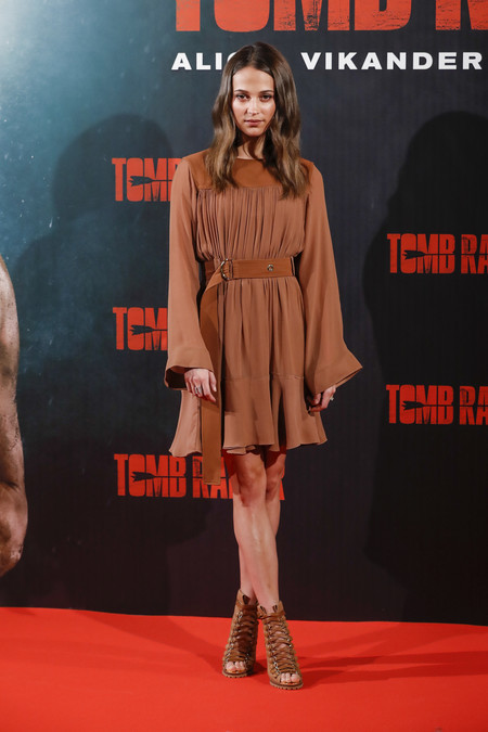 Alicia Vikander Photocall De Tomb Raider En Madrid