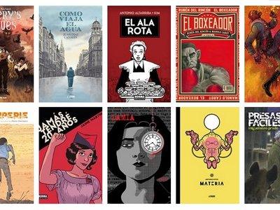 Ya conocemos a los candidatos de los premios del 35 Salón del Cómic de Barcelona