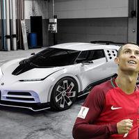 Cristiano Ronaldo compró uno de los 10 exóticos Bugatti Centodieci: un bólido de 214 millones de pesos