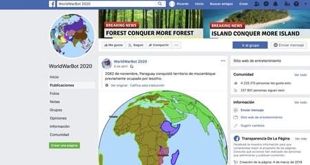 World War Bot Facebook