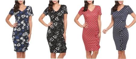 Cupón de descuento del 70% en cuatro vestidos para mujer Angvns: se quedan en 8,01 euros en Amazon