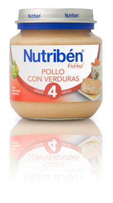 Pollo Verduras 4m 130gr Frontal 3575 125504