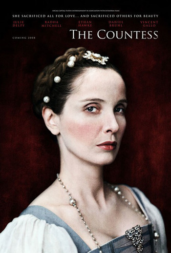 Julie Delpy espectacular en el póster de 'The Countess'
