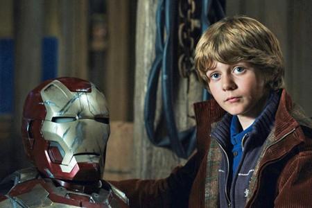 Ty Simpkins en Iron Man 3