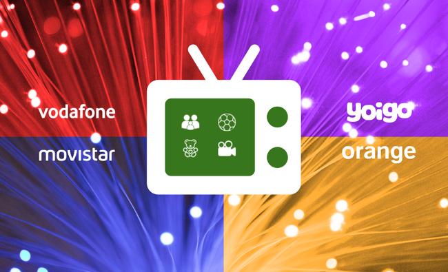 Comparativa de tarifas de fibra y móvil: Orange Love vs Movistar Fusión vs Vodafone One vs Combinados Yoigo