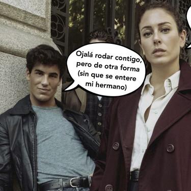 Así está siendo el rodaje de 'Jaguar', la serie que preparan los excuñados Blanca Suárez y Óscar Casas para Netflix