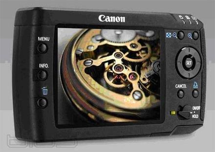 Nuevos visores de fotografías de Canon