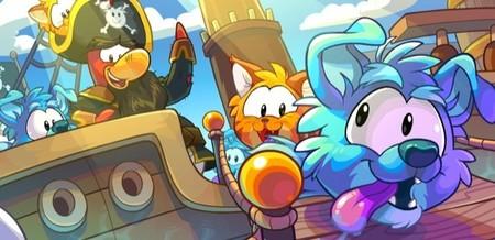 Perro (Border Collie celeste) y Gato (Gato Atigrado naranja) son los nuevos Puffle que llegan a Club Penguin