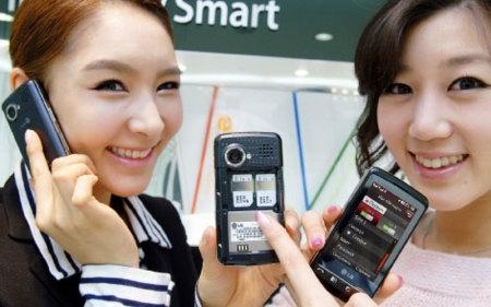 LG KS660, doble SIM y pantalla táctil