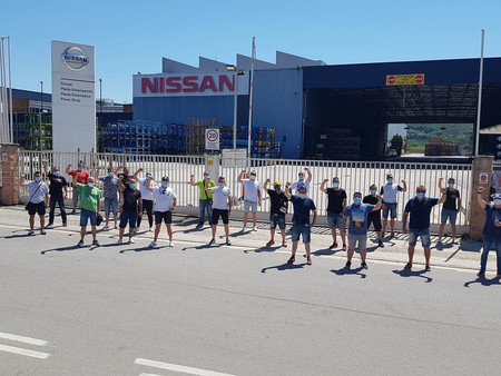 Nissan Barcelona Protestas Cierre
