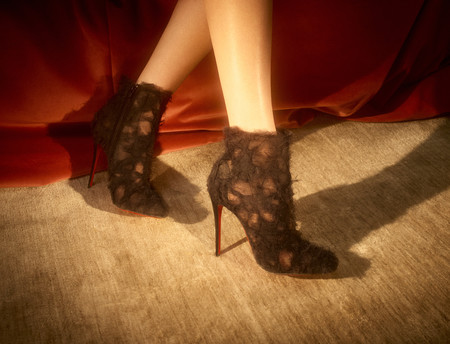 Así es la Alta Costura de Christian Louboutin... zapatos que nos hacen soñar