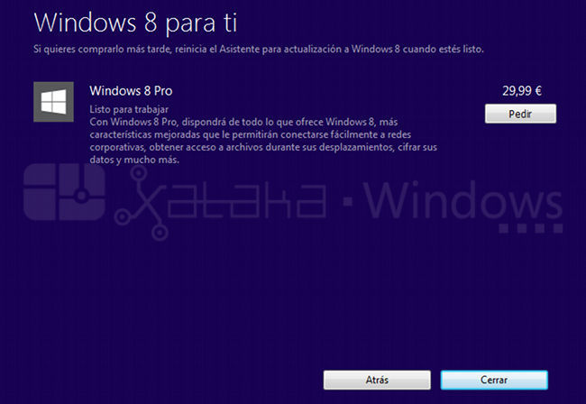 Comprar Windows 8 por Internet paso a paso