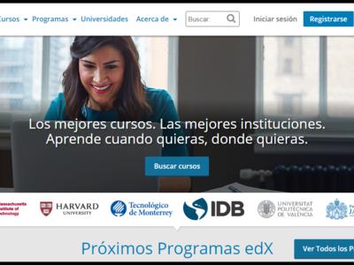 edX, la prestigiosa web de cursos online gratuitos ahora está disponible en español