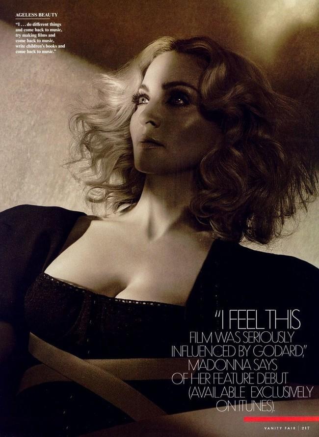 Foto de Madonna en Vainity Fair al completo (2/5)