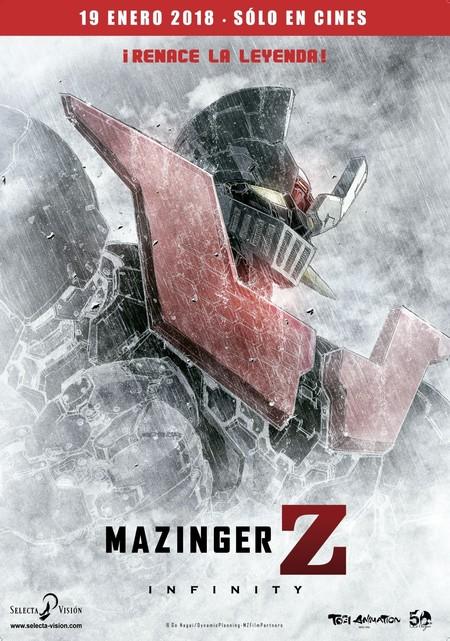 Mazinger Z Infinity Poster Cinemex Mexico