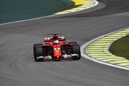 Sebastian Vettel y Ferrari vuelven a lo más alto del podio en Brasil