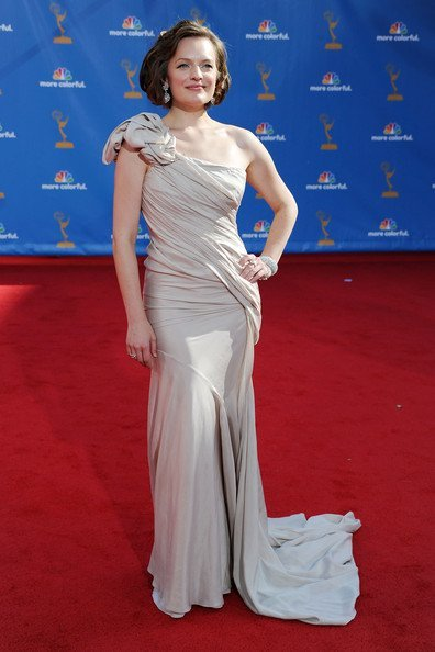 Elisabeth Moss en los Emmy Awards 2010