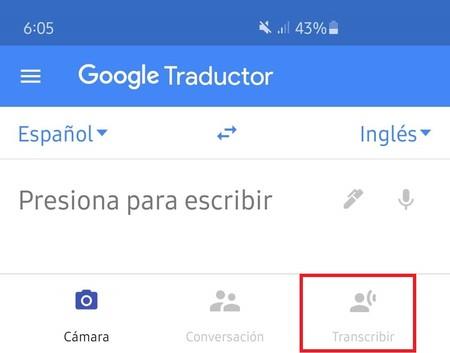 Google Tradcutor App Aplicacion Transcripcion Voz Espanol Texto Ingles