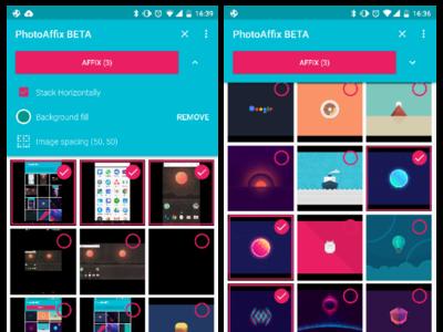 PhotoAffix, una aplicación tan útil que debería ser una herramienta por defecto en Android