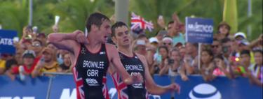 Jonathan Brownlee se deshidrata y Mario Mola gana el campeonato del mundo de triatlón en un alucinante y agónico final