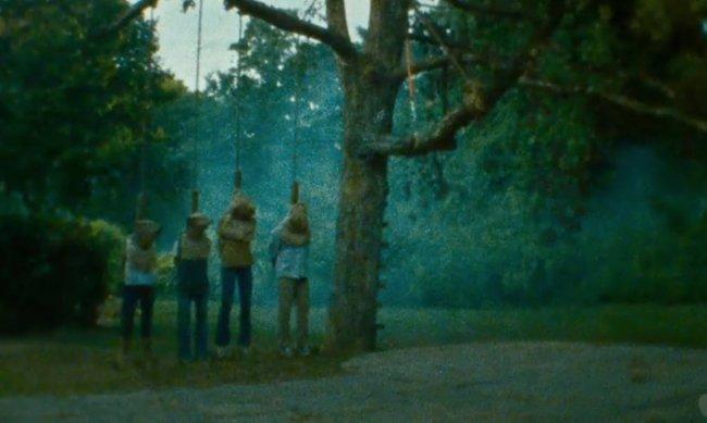 Imagen de la secuencia inicial de 'Sinister'