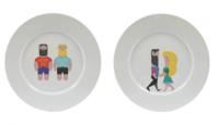 Viste tu mesa de una forma original con las vajillas de Xoan Viqueira