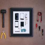 Esto es lo que pasa cuando los componentes de icónicos gadgets sirven para crear arte