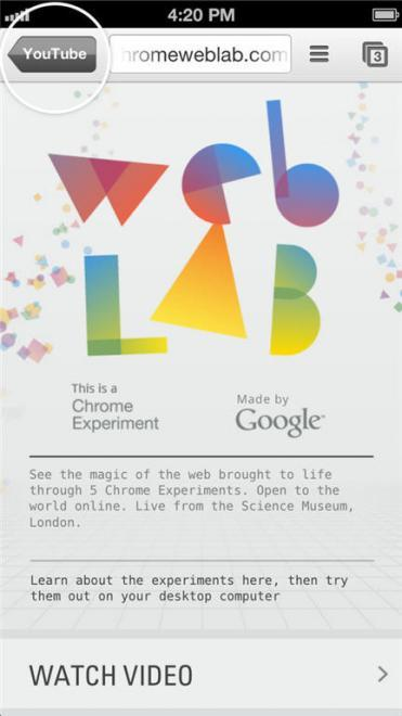 Google publica el código necesario para enlazar aplicaciones de iOS con Chrome