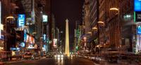 La calle Corrientes, la Buenos Aires que nunca duerme