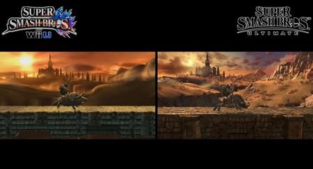 Super Smash Bros Ultimate Comparativa