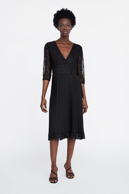 Vestido Negro Zara 13