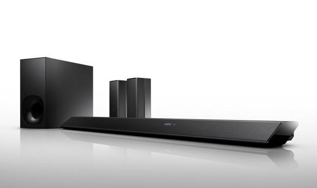 Ht rt5 la nueva barra de sonido de sony con altavoces for Barra surround