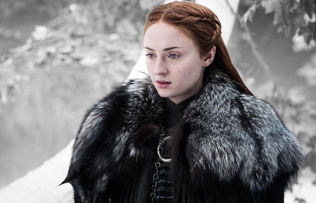 2df9036a077 El pelo sucio de Sansa era de verdad: Sophie Turner tenía prohibido lavarse  el pelo en 'Juego de Tronos'